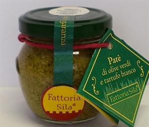Image de Crème d'olive verte et truffe blanche 90gr