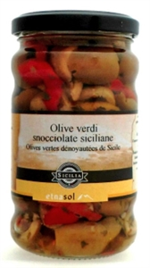 Image de Olives vertes dénoyautées 290gr