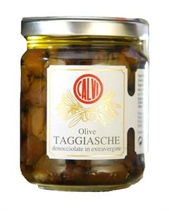 Image de Olives Taggiasches dénoyautées à l'huile d'olive 180 gr
