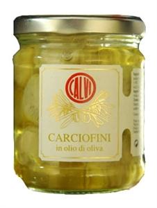 Image de Mini artichauts à l'huile d'olive 180 gr